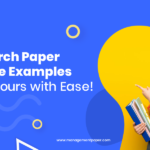 Research Paper Outline Examples