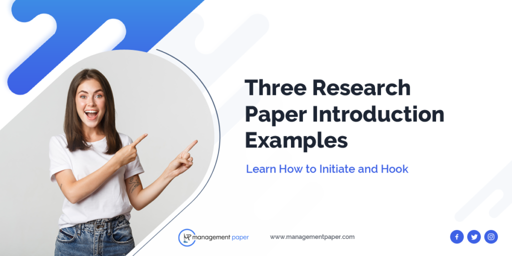 Research Paper Introduction Examples